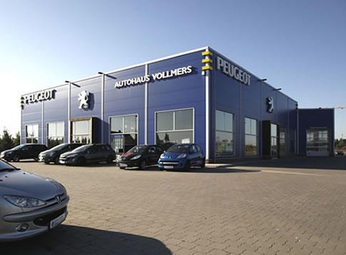 Büroeinrichtung Autohaus Vollmers - Tischlerei Schmorl