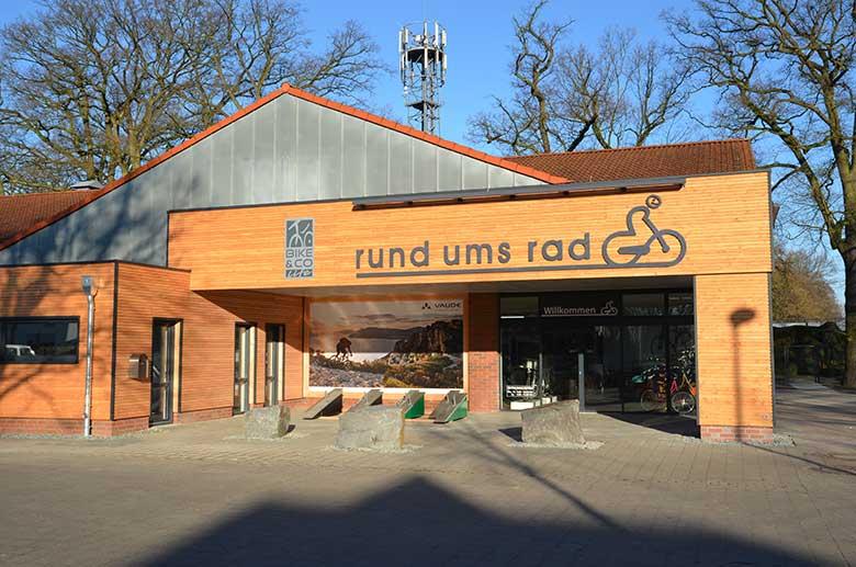 Ladenbau Fahrradhandel rund ums rad - Tischlerei Schmorl