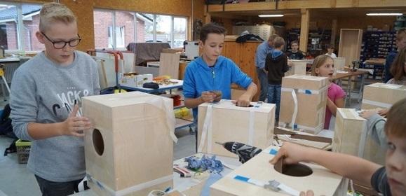 VGL Schulprojekt Tischlerei Schmorl